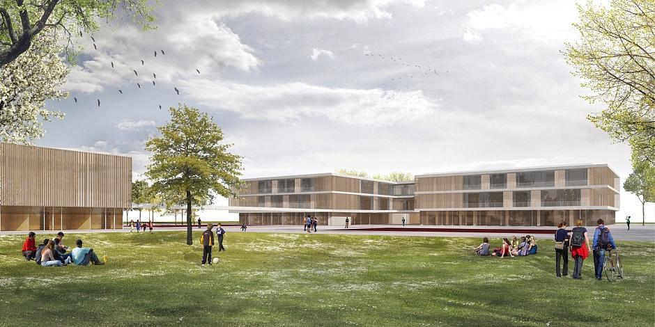 Vaterstetten- Neubau Grund- und Mittelschule